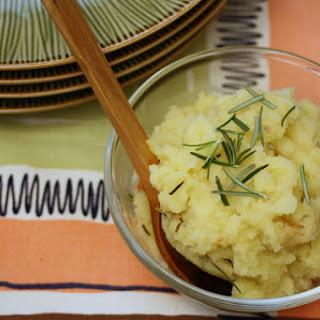 Garlic-Rosemary Mashed Potatoes.