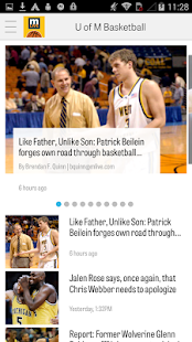 MLive.com: Michigan Hoops News- screenshot thumbnail