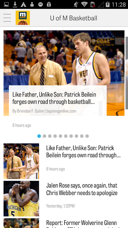 MLive.com: Michigan Hoops News- screenshot