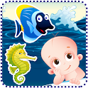 Baby Fishing. Free icon