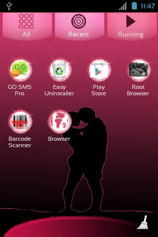 GO Launcher EX Valentine Day - screenshot