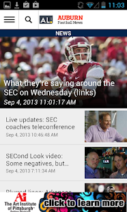 AL.com: Auburn Football News - screenshot thumbnail