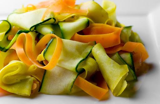Summer Vegetable Ribbons