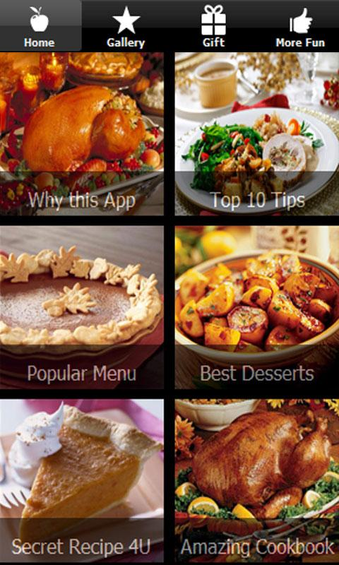 Thanksgiving Recipes & Jokes ♥ - screenshot