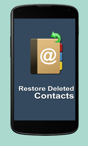 Restore Deleted Contacts 2015