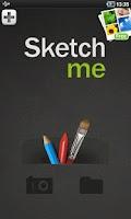 Screenshot of Sketch Me