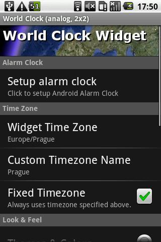 World Clock Widget Pro - screenshot