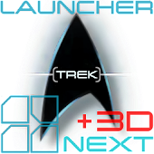 Trek: +3D Next Launcher Theme