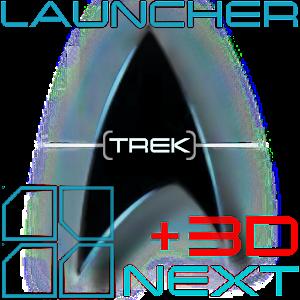 Trek: +3D Next Launcher Theme 個人化 LOGO-玩APPs