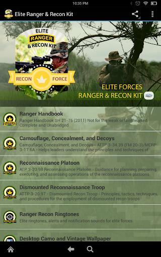 Elite Ranger Handbook Kit