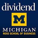 Dividend Alumni Magazine Ross logo