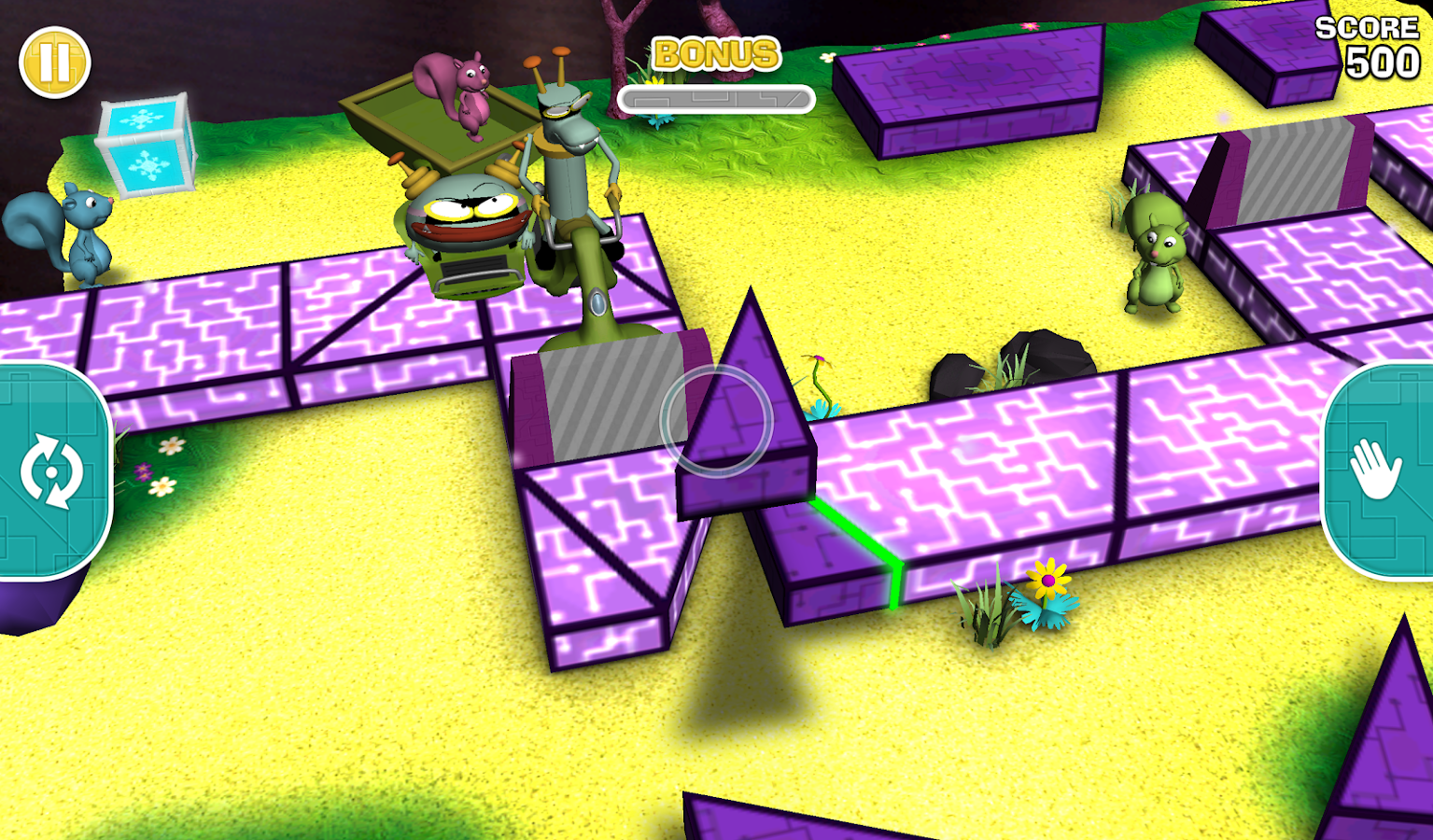 CyberChase Shape Quest! - screenshot