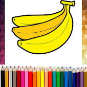 Coloring Fruits Game