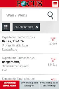 FOCUS Ärzteliste - screenshot thumbnail