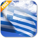 3D Greece Flag Live Wallpaper icon