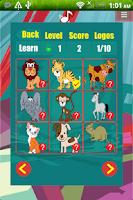 Screenshot of Animal games for preschool