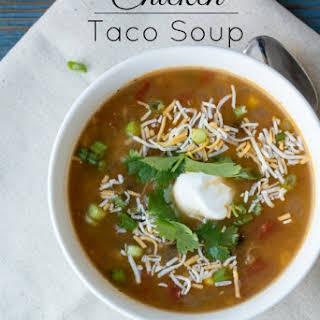 Chicken Taco Soup.