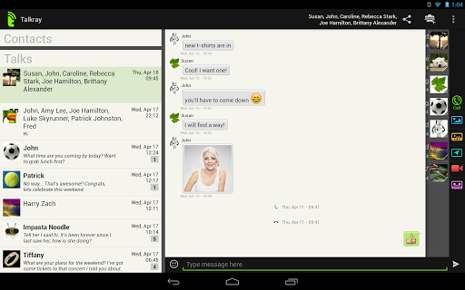 Android Talkray - Free Calls And Text Resimler