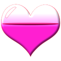 Heart Battery HD Widget 2x2 icon