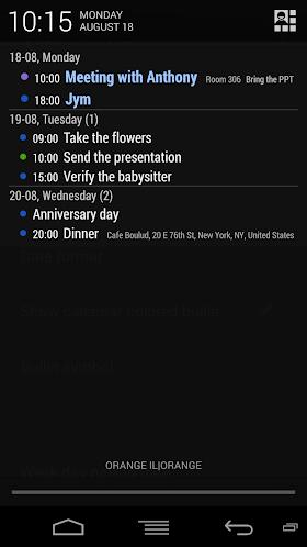 Calendar Status PRO 2.0 APK