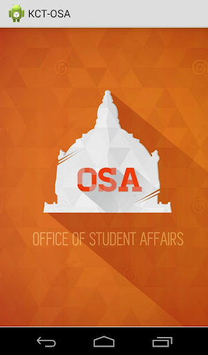 Office of Student Affairs KCT