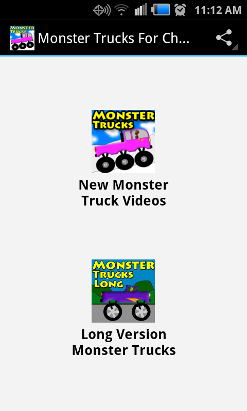 Monster Trucks For Kids- screenshot