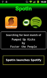 SpotIn - Spotify Quick Search - screenshot thumbnail