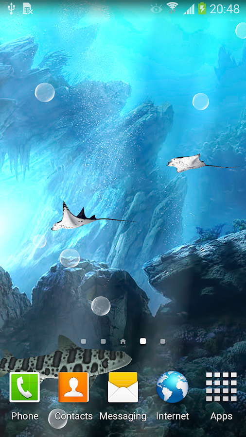3D Sharks Live Wallpaper - screenshot