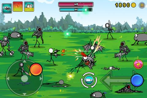 Cartoon Wars: Gunner+- screenshot