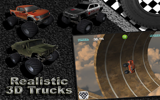 Screenshot of MONSTER TRUCK RACING