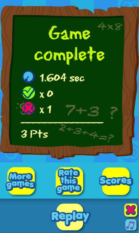 Math Mole - screenshot