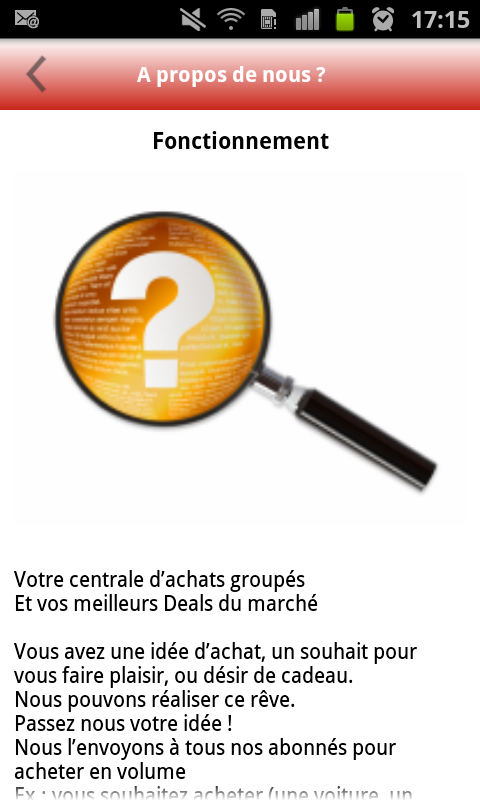 Deals Novellio – Capture d'écran