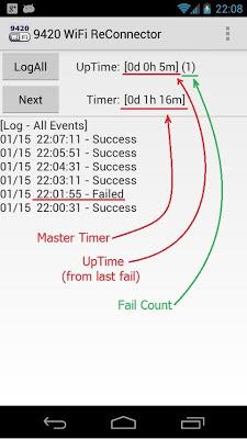 9420 WiFi ReConnector - screenshot