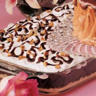 German Chocolate Cookies.