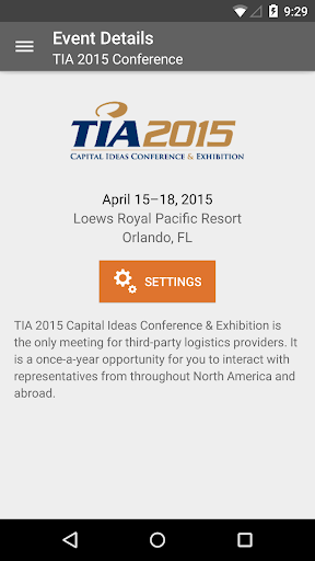 TIA 2015 Conference