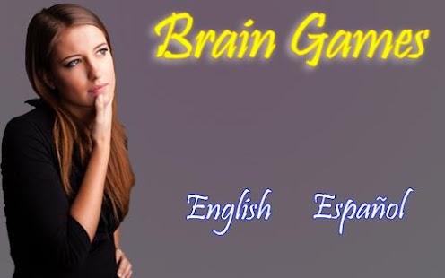 Brain Games Juegos Mentales