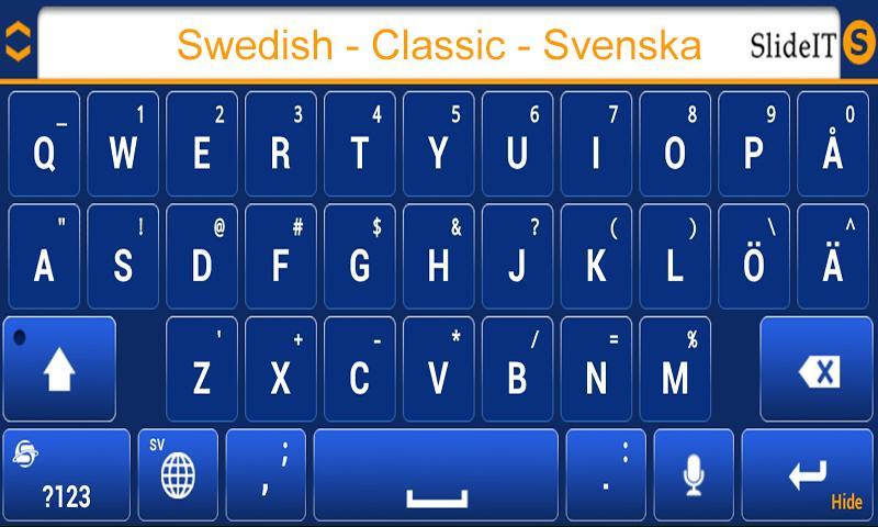 SlideIT Swedish Classic Pack- screenshot