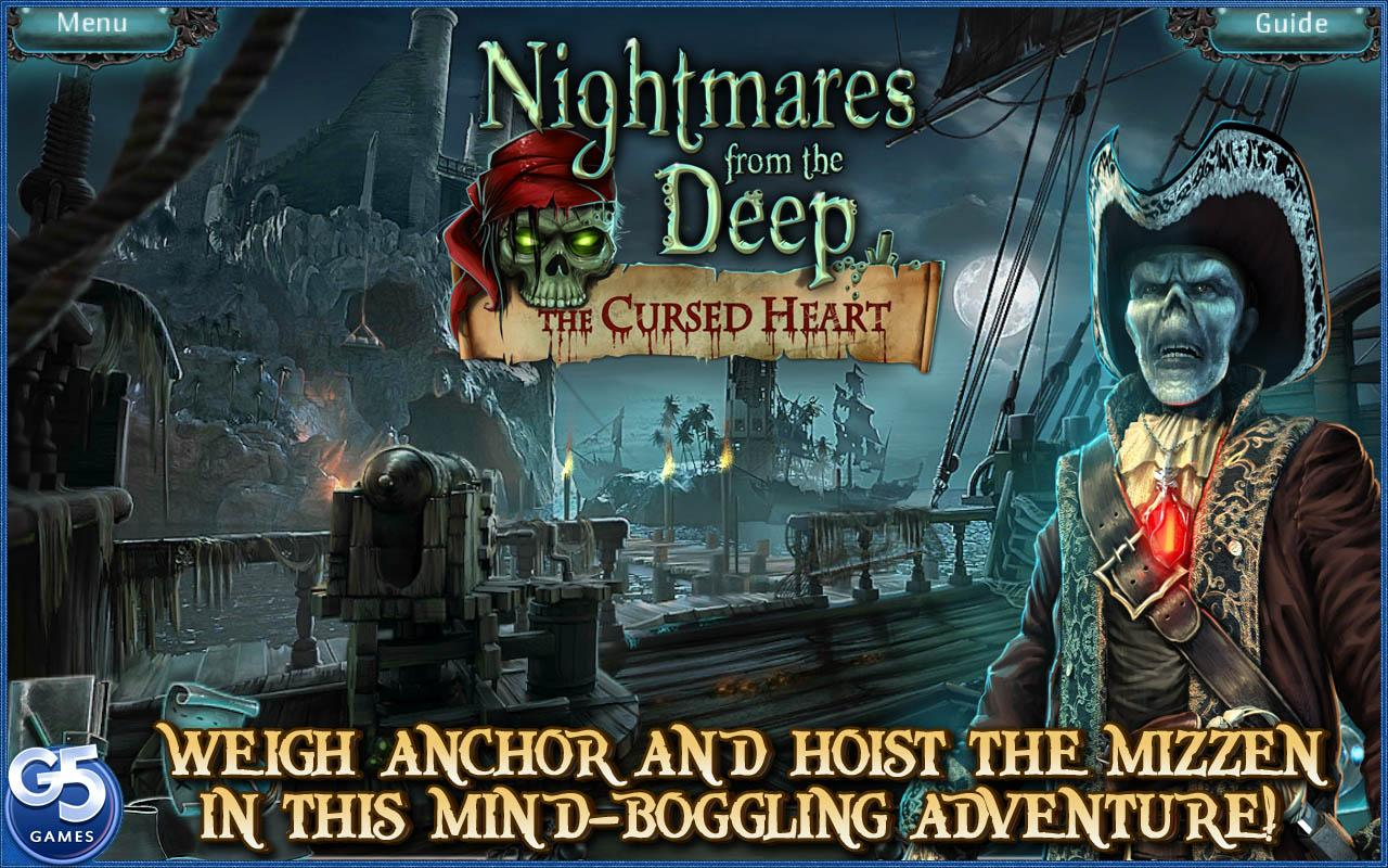 Nightmares from the Deep®: The Cursed Heart- screenshot