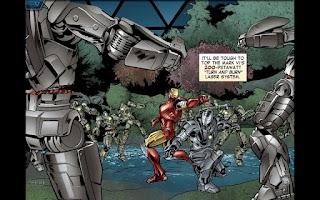 Screenshot of The Avengers-Iron Man Mark VII