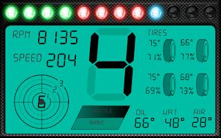 Screenshot of DashMeterPro for AC/pCars