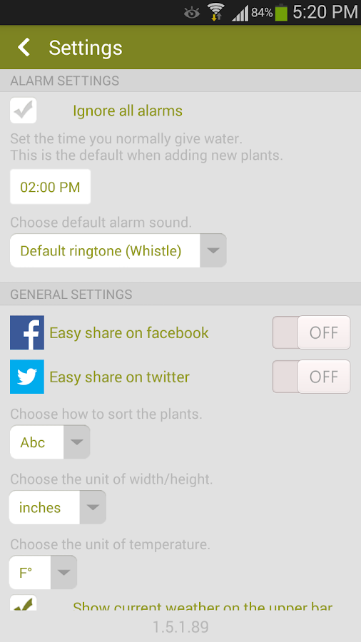 Garden Manager : Plant Alarm - screenshot