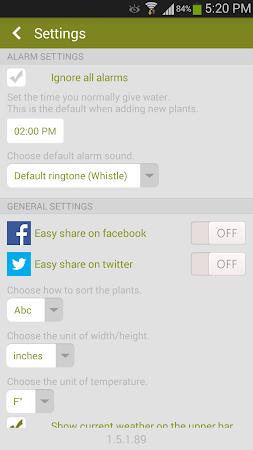 Garden Manager : Plant Alarm 1.7.8 screenshot 257007