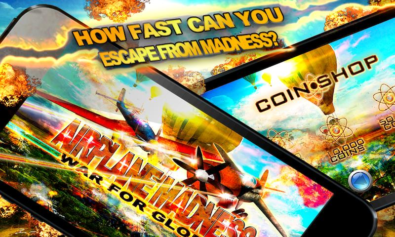 AIRPLANE MADNESS War Free Game - screenshot