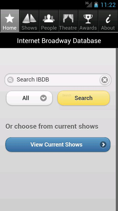 IBDB - Broadway Database - screenshot
