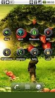 Screenshot of Brightness Toggle Widget