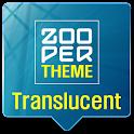 Translucent Theme Zooper Skin icon