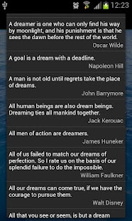 Dream Quotes - screenshot thumbnail