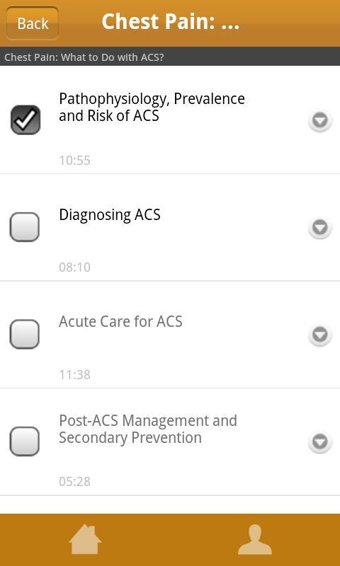 AAFP Learning Link Mobile - screenshot