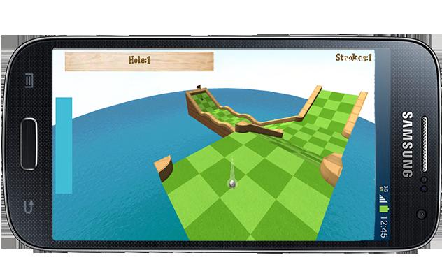 Mini Golf 3D - screenshot