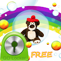 Cute Teddy Bear for GO Locker